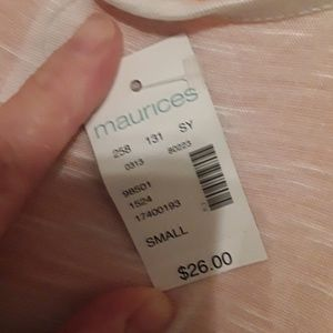 Maurices Tops - Maurices crop top, Sz S, NWT